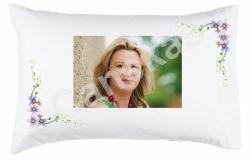 Fronha para travesseiro 50x70 cm personalizada