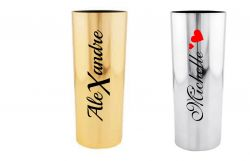 Copo long  drink Metalizado Personalizado